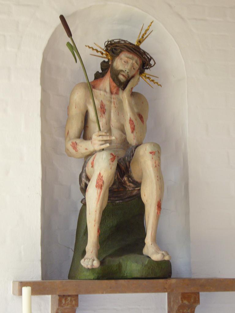 Der leidende Jesus unserer Seite von Br. Isidor zur Verfügung gestellt im Kloster der Passionisten